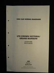1992 Ltd Crown Victoria Grand Marquis Electrical Wiring