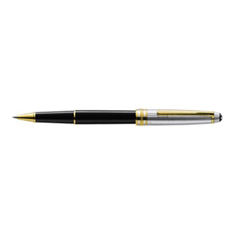 montblanc meisterstuck doue sterling silver rollerball pen montblanc 116 134 00