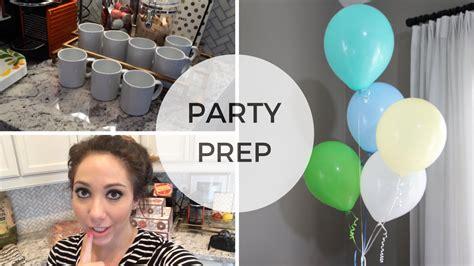Party Prep & Organization Youtube