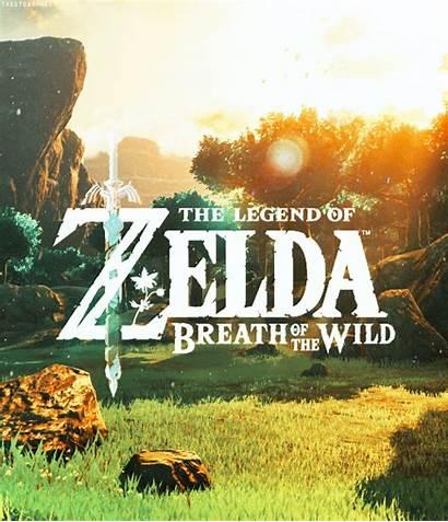 Zelda Wild Breath Legend Gifs Thelegendofzelda Link