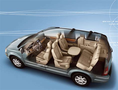 2008 Chrysler Town and Country Interior, 2011 chrysler ...