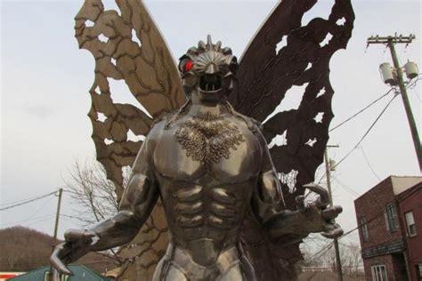statue picture  mothman statue point pleasant