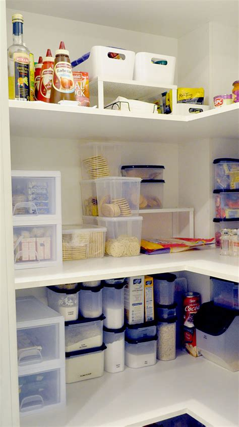 Inexpensive Pantry Cabinets by Creating An Organised Pantry On A Budget The Organised