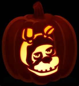 Freddy Krueger Pumpkin Stencil by Pumpkins Night And Tags On Pinterest