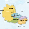 Map Vienna Prague Budapest – Calendrier 2021