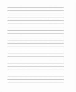 lined letter writing paper template template