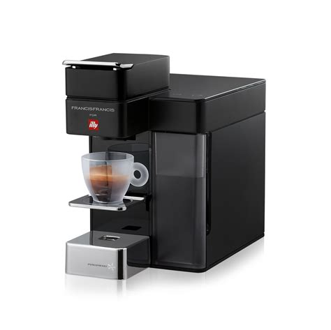 espresso machine black francis francis y5 for illy iperespresso black espresso