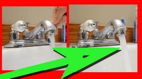 easy fix   water pressure  kitchen sink