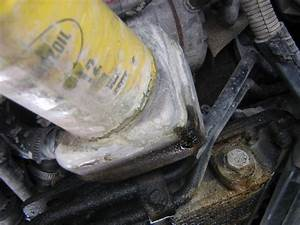 Oil Leak Under Car   Oil All Over The Oil Pan No Where Else