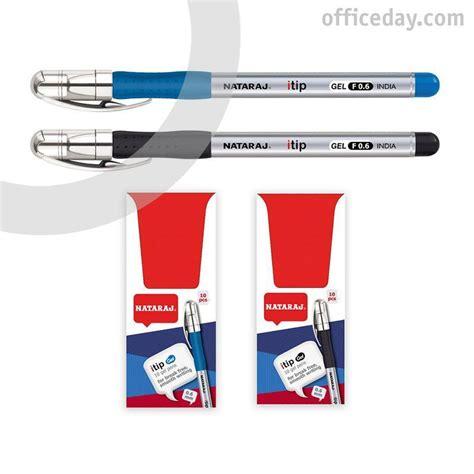 Gela pildspalva NATARAJ ITIP FINE 0.7mm, melna tinte, 1 ...