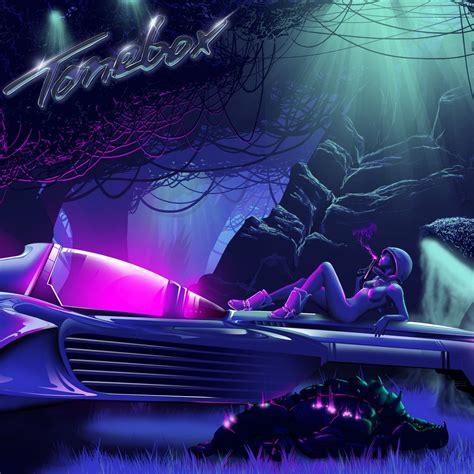Nocturn By Tonebox Cover Art Retro Future, Retrowave, 80's