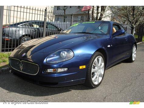 2005 Maserati Coupe Gt In Blu Nettuno Dark Blue Metallic
