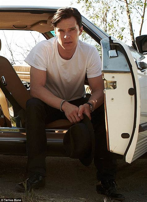 poster boy benedict cumberbatch smoulders in a series of