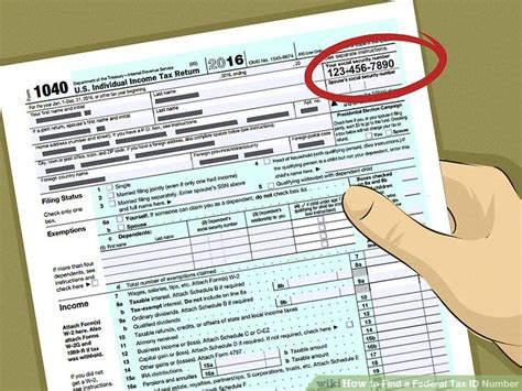 4 ways to find a federal tax id number wikihow