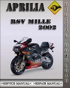 2002 Aprilia Rsv Mille Factory Service Repair Manual
