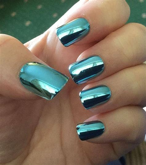 fingernail colors 50 eye catching chrome nails to revolutionize your nail