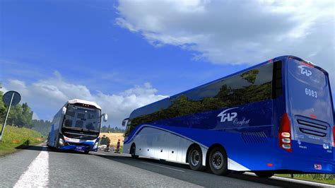 bus volvo  premium  bus mod euro truck simulator