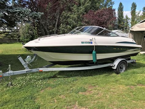 1999 Maxum Boat by 1999 Maxum 1900 Sc Power New And Used Boats For Sale