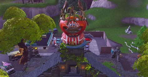 tomato temple   perfect addition  fortnites map