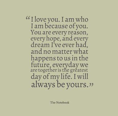 romantic quotes   notebook quotesgram