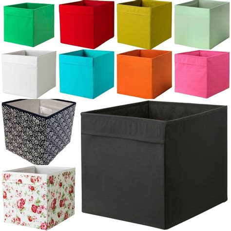 Ikea Box Bookcase by New Ikea Drona Fabric Storage Box Basket For Expedit