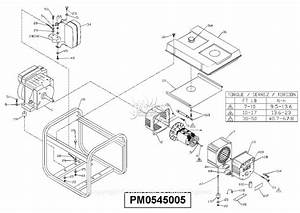 Powermate Formerly Coleman Pm0545005 Parts Diagram For