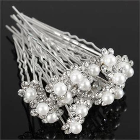 40PCS/Lot Women Beautiful Wedding Bridal Crystal
