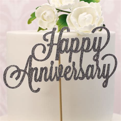 silver anniversary cake decorations decorations