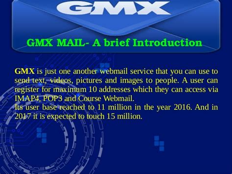 Gmx Mail Customer Care Support Services