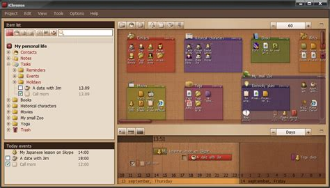 organiser bureau windows 7 ichronos organizer windows 7 screenshot windows 7