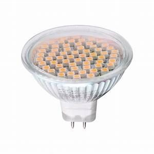 Gu5 3 Led : led spot leuchtmittel 3w smd 60 glas gu10 gu5 3 mr16 e14 ~ Edinachiropracticcenter.com Idées de Décoration