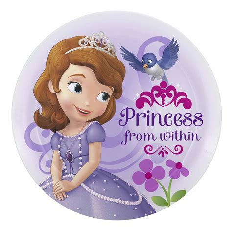 Sofia the First Kids Plate by Zak!