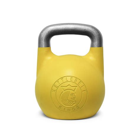 kettlebell kg competition kettlebells lb 32kg adjustable colored handle kettlebellkings colors kings 16kg lbs each save exercises weight contains two