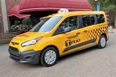 2018 Ford Transit Connect Taxi Motrolix
