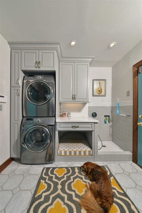 Monochrome House With Secrete Utility Room by Small Laundry Room Ideas Stackable Washer Dryer Laundry