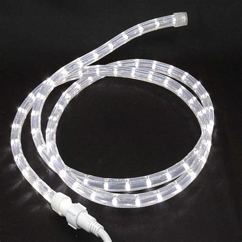 custom cut pure white low voltage 12v led rope light kit 1