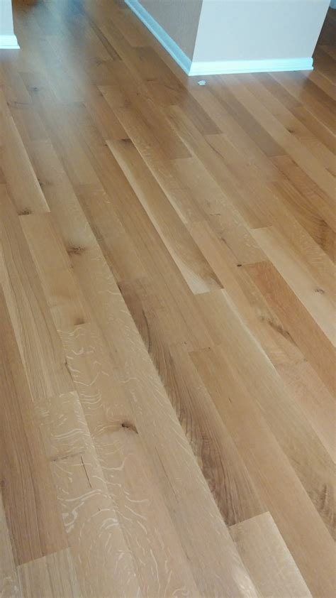 6 quot wide character grade rift quartered white oak flooring quartersawn