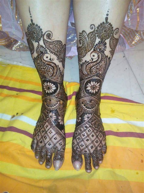 bridal mehndi design  legs art craft ideas