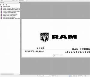 Dodge Ram 2500 3500 2012