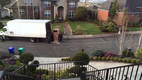 ge monogram fridge delivery youtube