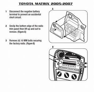 2007 Toyota Matrix Installation Parts  Harness  Wires