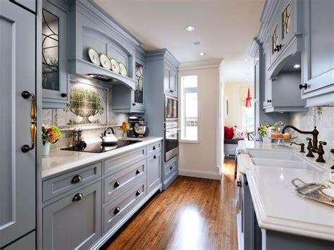 Blue Traditional Kitchen Pictures English Cottage Charm