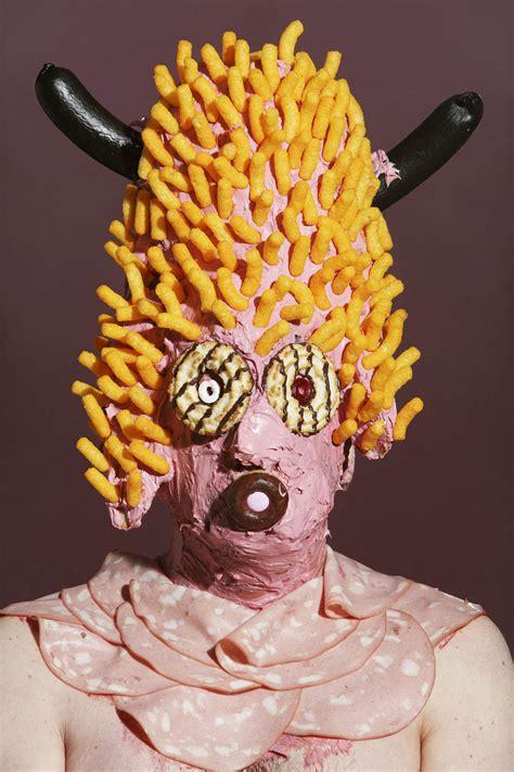 insane junk food sculptures scene