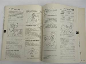 1970s Briggs  U0026 Stratton Small Engine Repair Instruction Manual