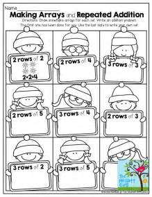 Printable Math Worksheets Second Grade The 25 Best Repeated Addition Ideas On