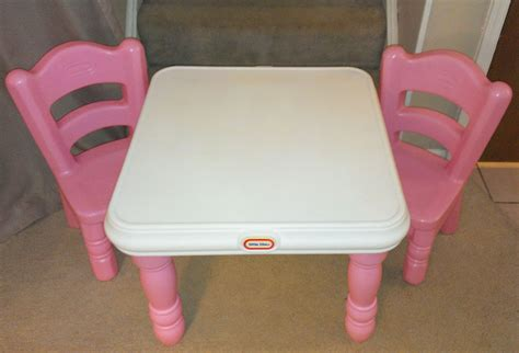 little tikes victorian tender hearts table 2 pink