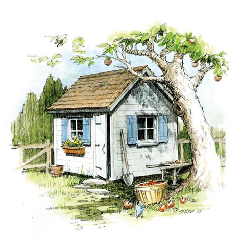how to build a classic cottage garden shed diy