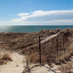 beach fence st augustine florida photograph  michelle