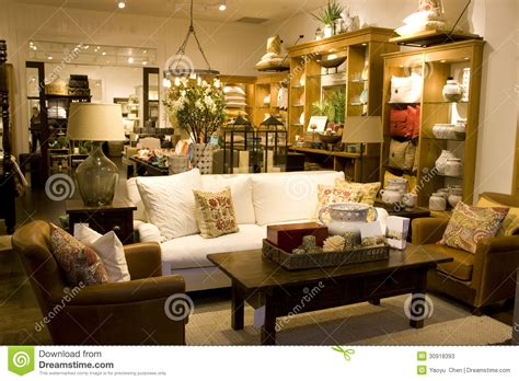 furniture  home decor store stock image image