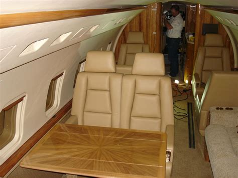 cabinetry  woodwork  private jets  planes